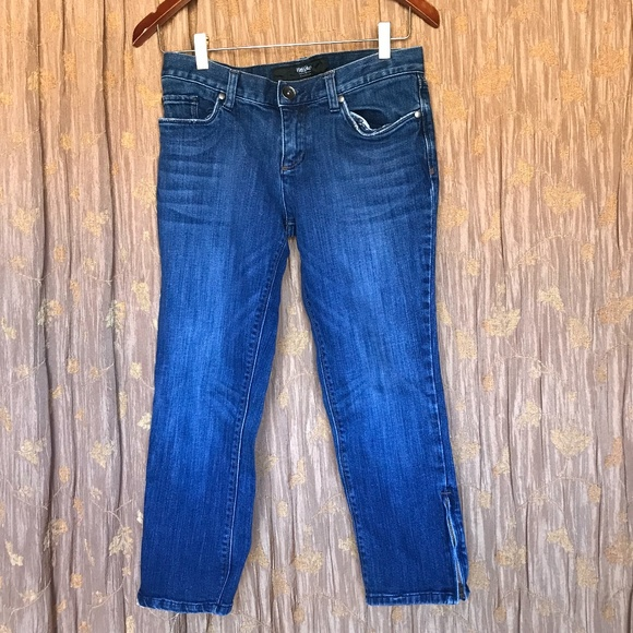 MOSSIMO ANKLE ZIPPER JEANS SIZE 6